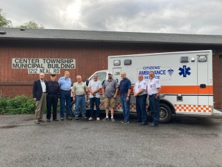 Leaders of Center Township and Citizens' Ambulance Service